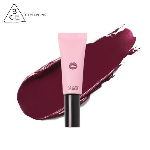 [BIG SALES] Son Kem Siêu Lì 3CE LIQUID LIP COLOR - #Màu Lazy (Đỏ Vang)