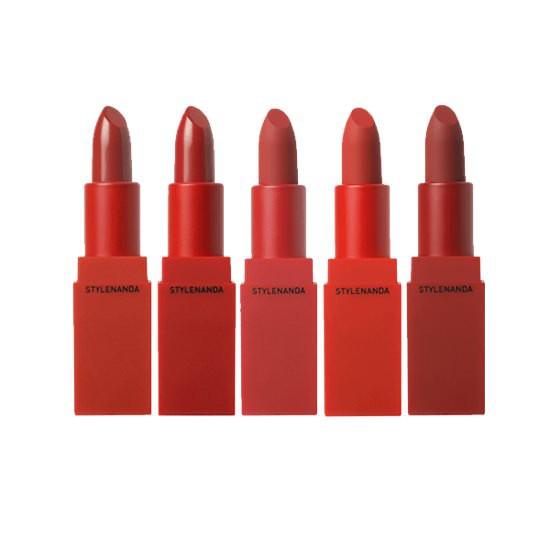 [BIG SALE] Son Thỏi Lì Siêu Mịn Môi 3CE Red Recipe Matte Lip Color