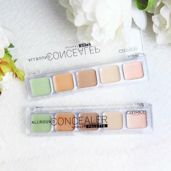 Kem Che Khuyết Điểm Hoàn Hảo 5 Ô Catrice Cosmetics  Allround Concealer Palette 6g