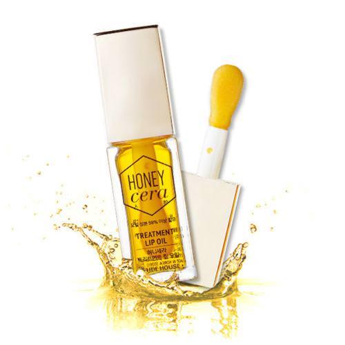 Son Dưỡng Môi Chiết Xuất Mật Ong Etude House Honey Cera Treatment Lip Oil 7ml