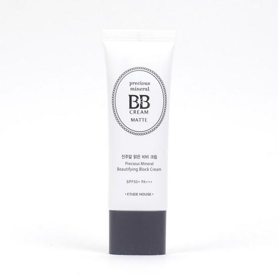 Kem Nền BB Chiết Xuất Khoáng Chất Quý Hiếm Etude House Precious Minreral Beautifying Block Cream Matte
