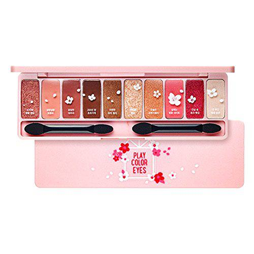 Phấn Mắt Etude House10 Màu Ngọt Ngào Play Color Eyes Cherry Blossom