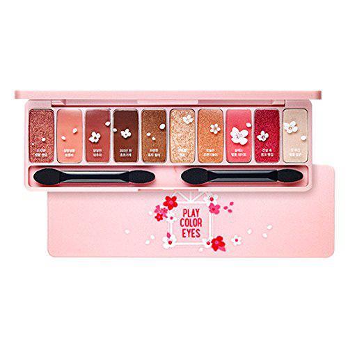 Phấn Mắt Etude House10 Màu Ngọt Ngào Play Color Eyes Cherry Blossom