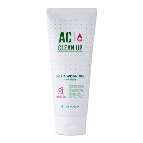Sữa Rửa Mặt Etude House AC Clean Up Daily Acne Cleansing Foam 150ml
