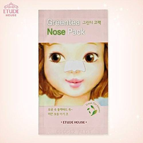 Miếng Lột Mụn Mũi Etude House Green Tea Nose Pack