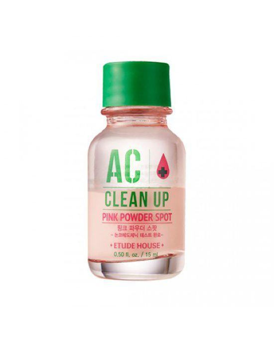 Chấm Trị Mụn Etude House AC Clean Up Pink Powder Spot Set (Mới 2016)