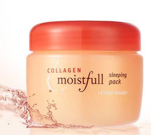 Mặt Nạ Ngủ Dưỡng Săn Chắc Da Và Chống Lão Hoá Etude House Moistfull Collagen Sleeping Pack 100ml