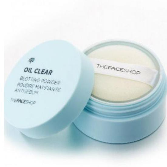 Phấn Phủ Dạng Bột Cho Da Dầu The Face Shop Oil Clear Blotting Powder 6g