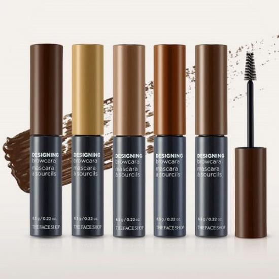 Cọ Mascara Tô Màu Mày The Face Shop Designing Browcara