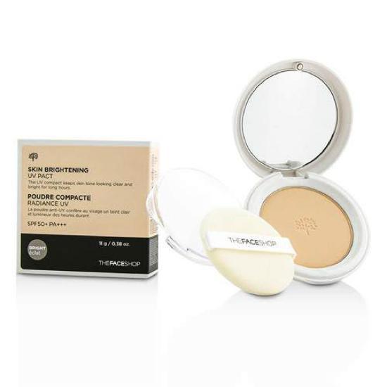 Phấn Phủ Nén Sáng Da Và Lâu Trôi The Face Shop Skin Brightening UV Pact SPF50/PA+++