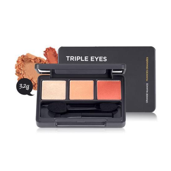 [ BIG DEALS] Phấn Mắt 3 Màu The Face Shop Triple Eyes Trio Fards À Paupières
