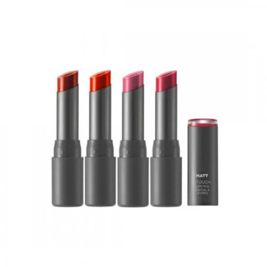 Son Lì Dạng Thỏi The Face Shop Matt Touch Lipstick