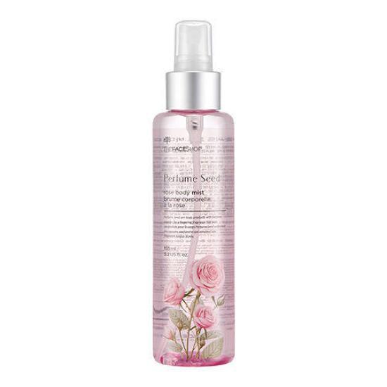 [BIG SALES] Xịt Dưỡng Thể Nước Hoa Perfume Seed Rose Body Mist 155ml