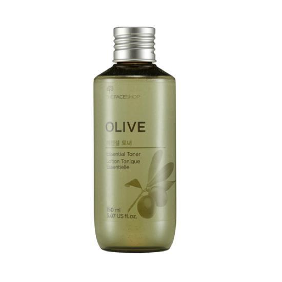 Nước Hoa Hồng Dưỡng Ẩm, Sáng Da Và Chống Lão Hoá The Face Shop Olive Essential Toner 150ml