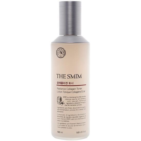 Nước Hoa Hồng Dưỡng Trắng Da Và Chống Lão Hoá Cao Cấp The Face Shop The Smim Radiance Collagen Toner 150ml