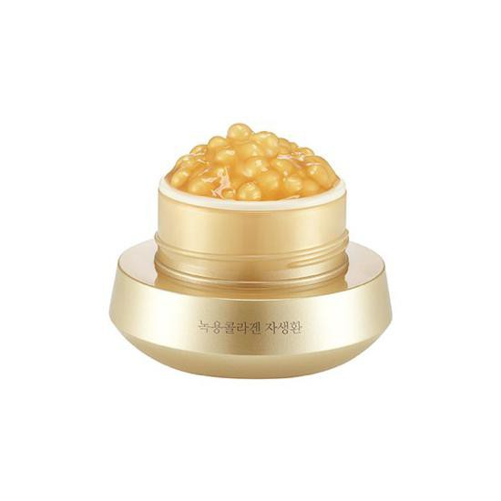Kem Dưỡng Da Chiết Xuất Ngọc Trai The Face Shop Nokyong Collagen Contour Lift Gold Capsule Cream 50g