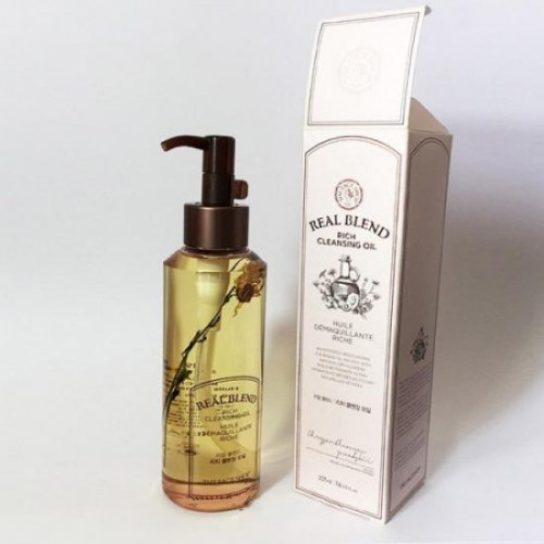 Dầu Tẩy Trang Cung Cấp Ẩm The Face Shop Real Blend Rich Cleansing Oil 225ml