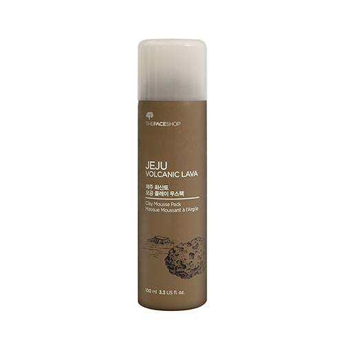 Mặt Nạ Đất Sét The Face Shop Jeju Volcanic Lava Clay Mousse Pack 100ml
