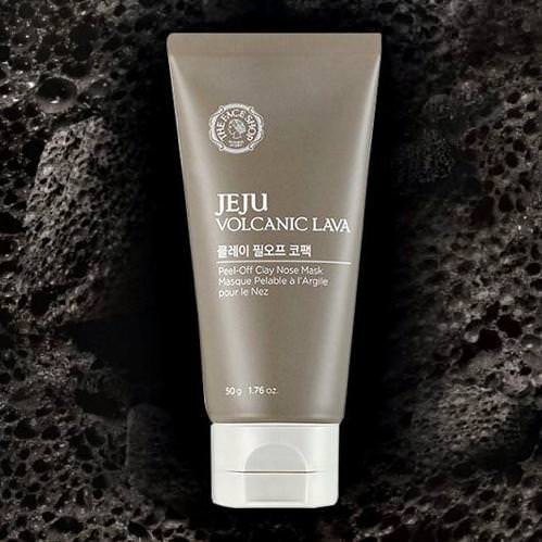Mặt Nạ Lột Mụn Mũi The Face Shop Jeju Volcanic Lava Peel-Off Clay Nose Mask 50g