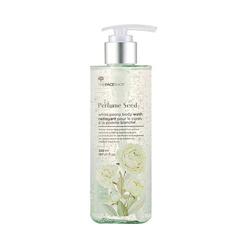 Sữa Tắm Trắng Da The Face Shop Perfume Seed White Peony Body Wash 300ml