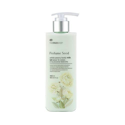 Sữa Dưỡng Thể Trắng Da Hoa Mẫu Đơn The Face Shop Perfume Seed White Peony Body Milk 300ml