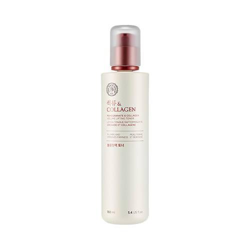 Nước Hoa Hồng Săn Chắc Da Và Chống Lão Hóa The Face Shop Pomegranate And Collagen Volume Lifting Toner 160ml
