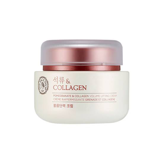 Kem Dưỡng Săn Chắc Da Và Chống Lão Hóa The Face Shop Pomegranate And Collagen Volume Lifting Cream 100ml