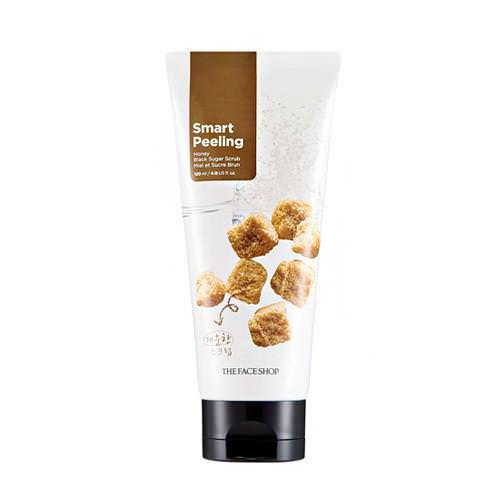 Tẩy Da Chết Trắng Da The Face Shop Smart Peeling Honey Black Sugar Scrub 120ml