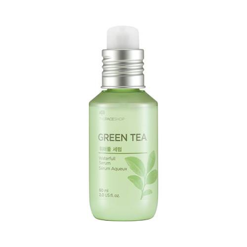 Tinh Chất Dưỡng Da Kiềm Dầu Trà Xanh The Face Shop Waterfull Green Tea Serum
