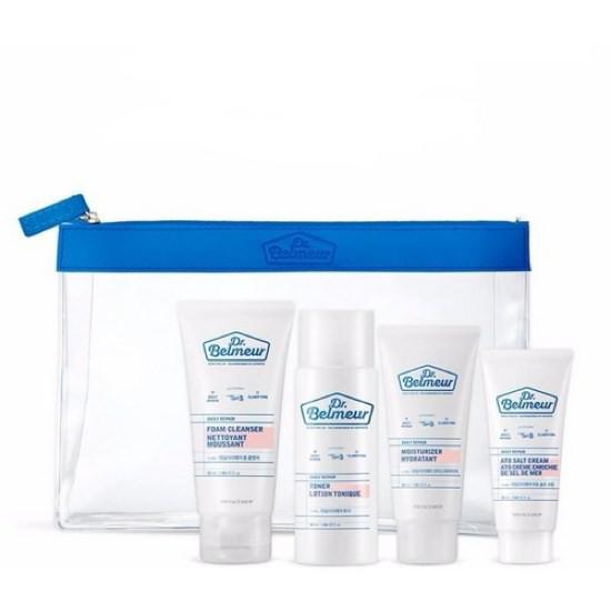 Bộ Dưỡng Dùng Thử Phục Hồi Da Dịu Nhẹ The Face Shop Dr. Belmeur Daily Repair Starter Kit