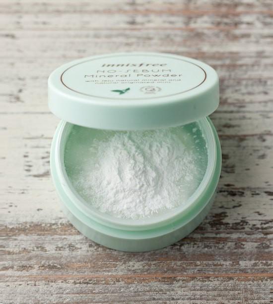 Phấn Phủ Kiềm Dầu Innisfree No Sebum Mineral Powder - 5g