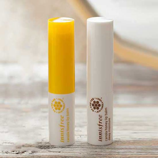 Son dưỡng ẩm môi Innisfree Canola Honey Lip Balm