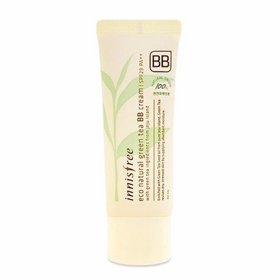 Kem BB Cream Chiết Xuất Trà Xanh Innisfree Eco Natural Green Tea SPF29 40ml