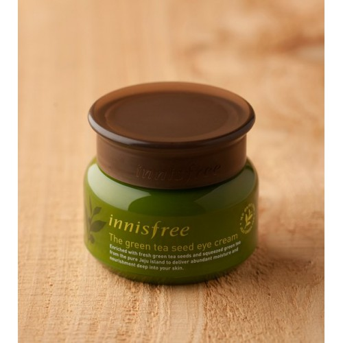 [BIG SALE] Kem Dưỡng Mắt Trà Xanh Innisfree The Green Tea Seed Eye Cream 30ml