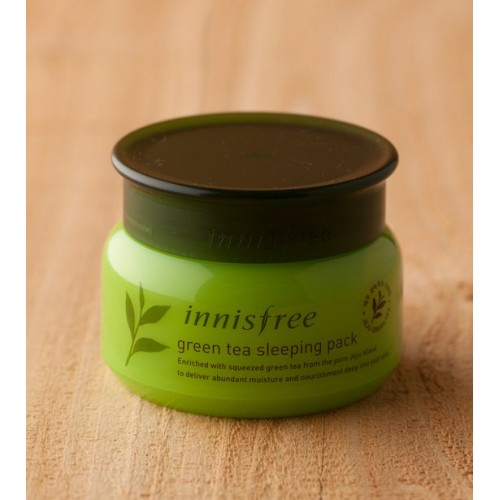 Mặt nạ ngủ Innisfree Green Tea Sleeping Pack 80ml