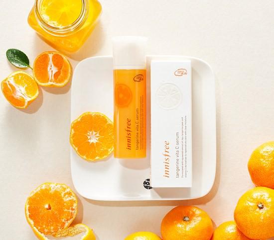 [BIG SALE] Tinh Chất Dưỡng Trắng Da Innisfree Tangerine Vita C Serum 50ml