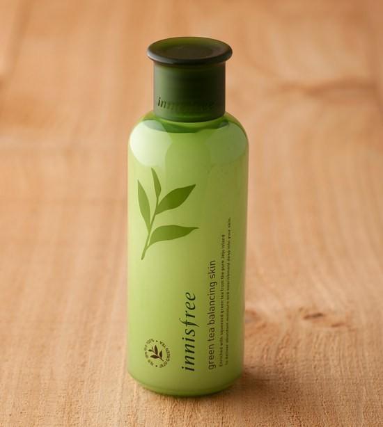 Nước Hoa Hồng Innisfree Trà Xanh Green Tea Balancing Skin 200ml