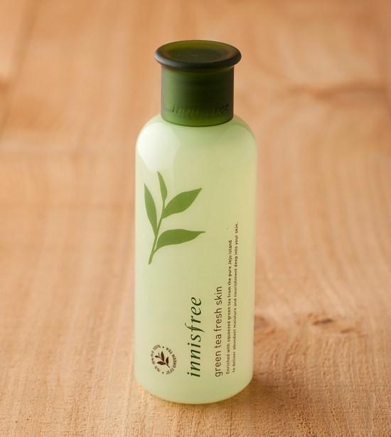 Nước Hoa Hồng Innisfree Trà Xanh Green Tea Fresh Skin 200ml