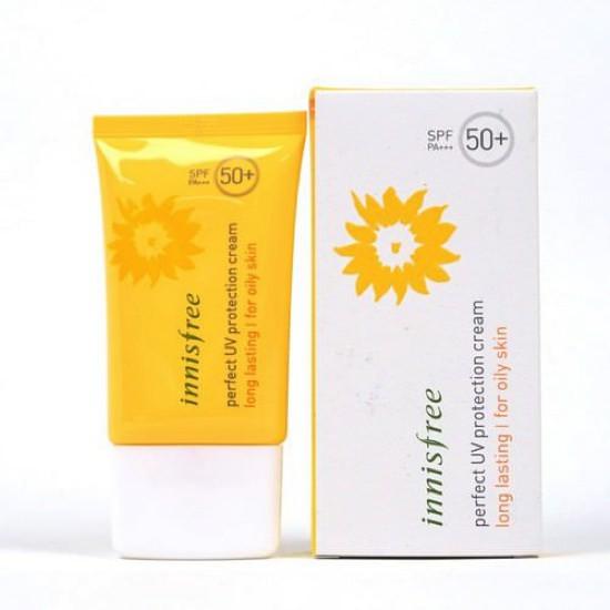 Kem Chống Nắng Lâu Trôi Innisfree Perfect UV Protection Cream Long Lasting SPF50+ PA+++ 50ml (Oily Skin)