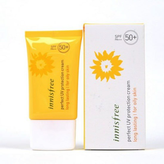 Kem Chống Nắng Lâu Trôi Innisfree Perfect UV Protection Cream Long Lasting SPF50+ PA+++ 50ml (Oily Skin)