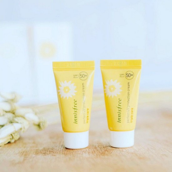 Kem Chống Nắng Chống Rửa Trôi Innisfree Perfect UV Protection Cream Triple Care (Small) SPF50 PA+++ 20ml