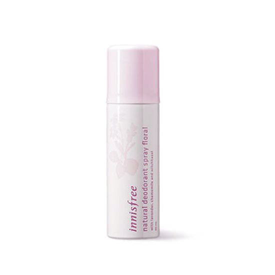 Xịt Khử Mùi Cơ Thể Innisfree Natural Deodorant Spray Floral 50ml