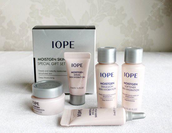 [BIG SALES] Bộ Dùng Thử Cao Cấp Dưỡng Ẩm Da Toàn Diện IOPE Moistgen Skin Hydration Special Set