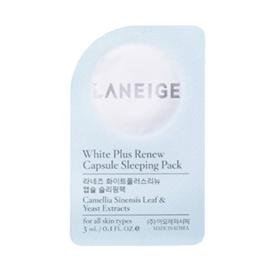 Viên Mặt Nạ Ngủ Dưỡng Trắng Sáng Da Laneige White Plus Renew Capsule Sleeping Pack 3ml