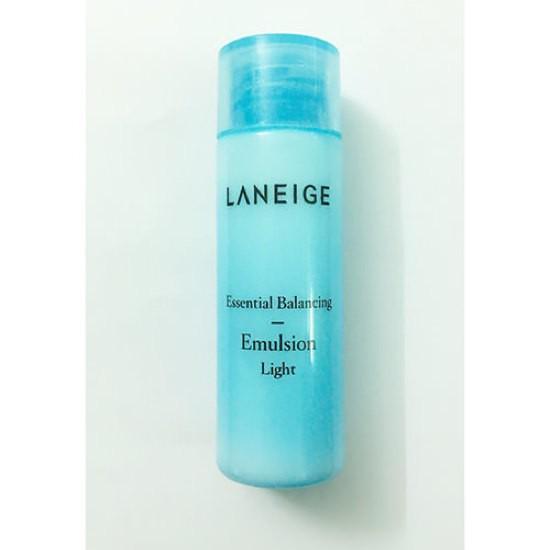 Sữa Dưỡng Ẩm Cho Da Dầu Laneige Essential Balancing Emulsion Light 25ml (Dùng Thử)
