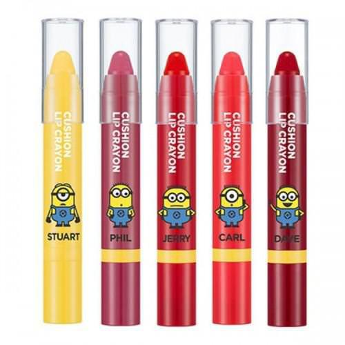 [Đồng Giá 89K] Son Dưỡng Có Màu Lâu Trôi Missha Cushion Lip Crayon (Phiên Bản Minion)