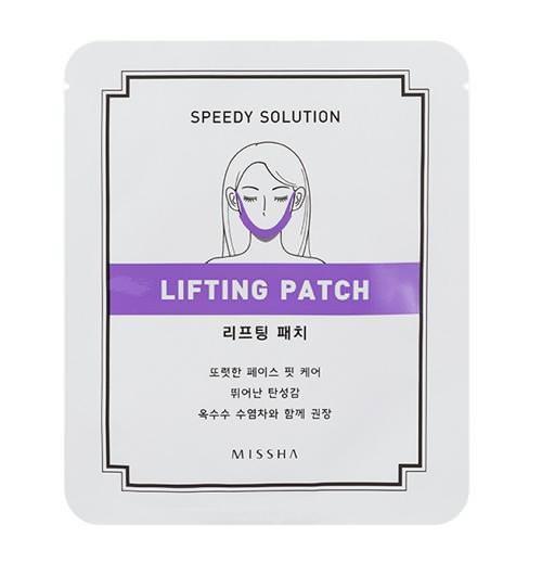 Mặt Nạ Collagen Nâng Mặt Chống Lão Hoá Và Săn Chắc Da Missha Speedy Solution Lifting Patch