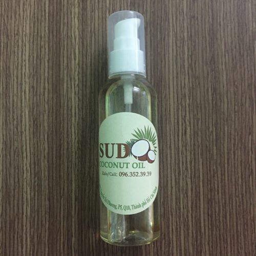 [ĐỒNG GIÁ 69K] Dầu Dừa Nguyên Chất Sudo Home Made Coconut Oil 100ml