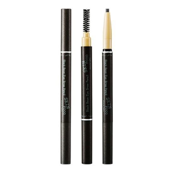 Chì Kẻ Lông Mày Skinfood Black Bean Eye Brow Pencil (Màu 03 - Nâu Sẫm)