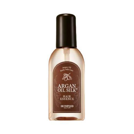 Tinh Chất Dưỡng Tóc Chiết Xuất Tinh Dầu Argan SkinFood Argan Oil Silk Plus Hair Essence 100ml (Nhãn mới)